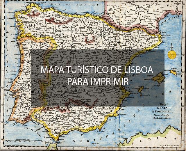 Mapa Turistico De Lisboa Para Imprimir Viajar Lisboa